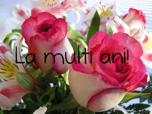 Felicitari de La Multi Ani - La multi ani flori - mesajedelamultiani.info